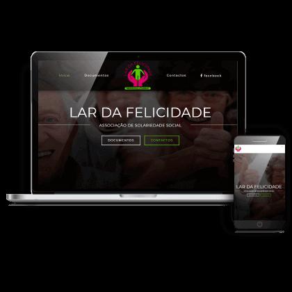 construção website para ipss lar creche